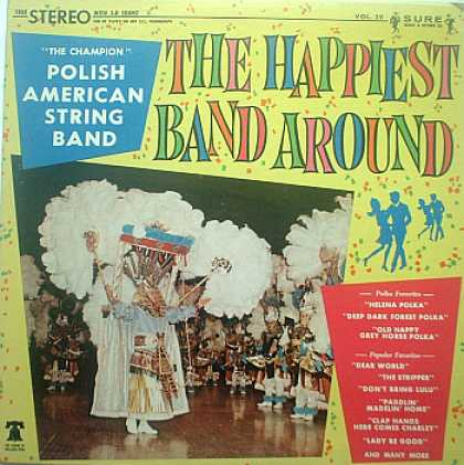 Weirdest Album Covers - Polish American String Band (Happiest Band Around)