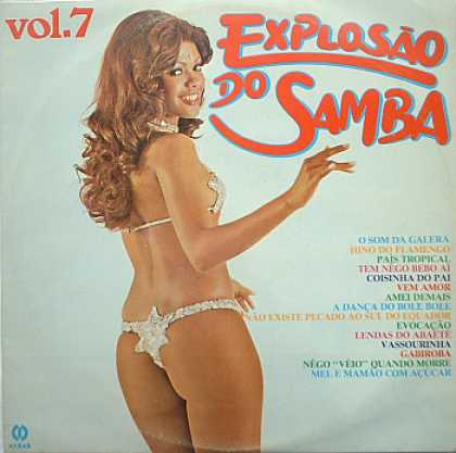 Weirdest Album Covers - Explosao do Samba, vol 7