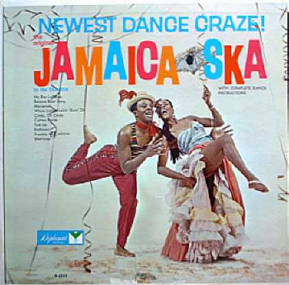 Weirdest Album Covers - Ska-Men (The Original Jamaica-Ska)