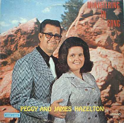 Weirdest Album Covers - Hazelton, Peggy & James (Ministering In Song)