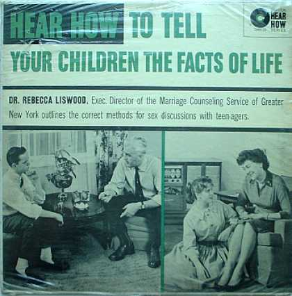 Weirdest Album Covers - Liswood, Dr. Rebecca (Hear How To Tell Your Children The Facts Of Life)