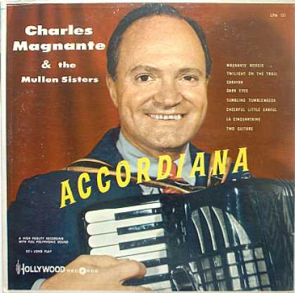 Weirdest Album Covers - Magnante, Charles & The Mullen Sisters (Accordiana)