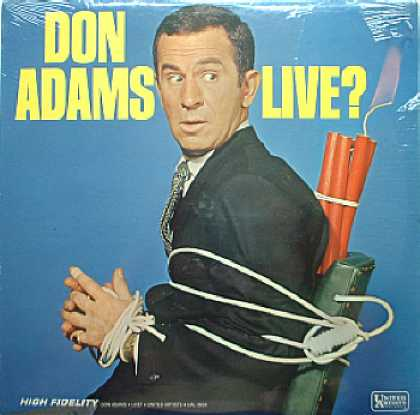 Weirdest Album Covers - Adams, Don (Live?)