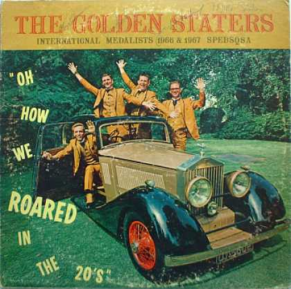 Weirdest Album Covers - Golden Staters (Oh How We Roared In The 20s)