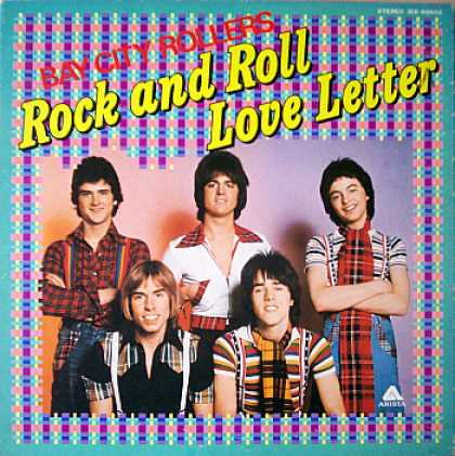 Weirdest Album Covers - Bay City Rollers (Rock & Roll Love Letter)