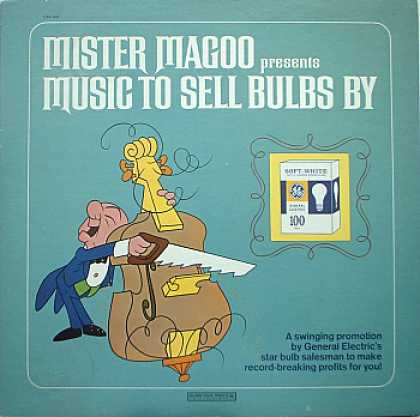 Weirdest Album Covers - Mister Magoo Presents Music To Sell Bulbs By