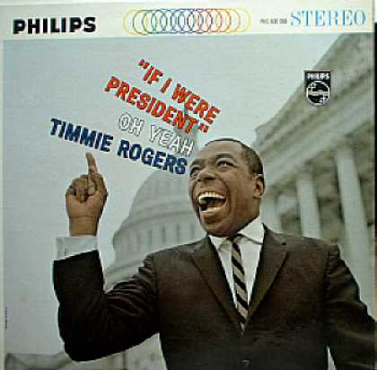 Weirdest Album Covers - Rogers, Timmie (If I Were President)