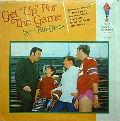 "Weirdest Album Covers - Glass, Bill (Get ""Up"" For The Game)"