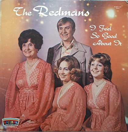 Weirdest Album Covers - Redmans (I Feel So Good About It)