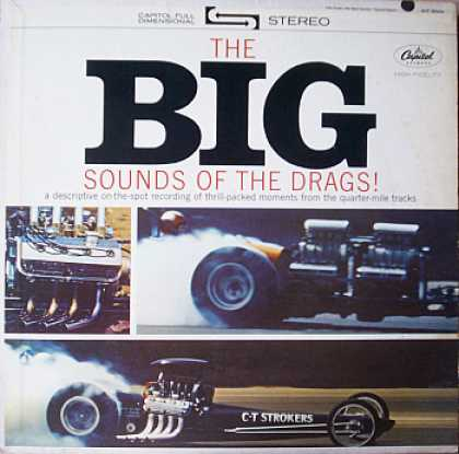 Weirdest Album Covers - Big Sounds Of The Drags!
