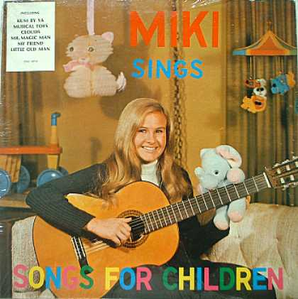 Weirdest Album Covers - Miki (Sings For Children)