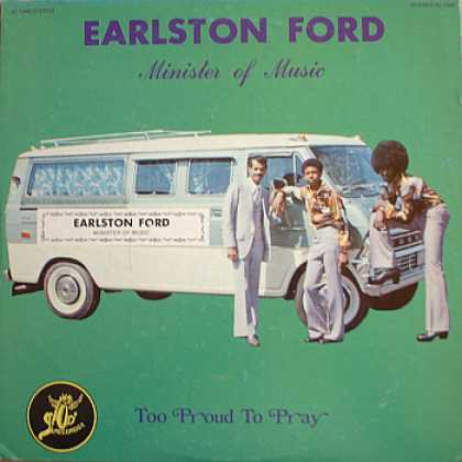 Weirdest Album Covers - Ford, Earlston (Too Proud To Pray)