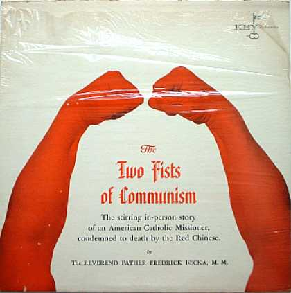 Weirdest Album Covers - Becka, Rev. Dr. Frederick (The Two Fists Of Communism)