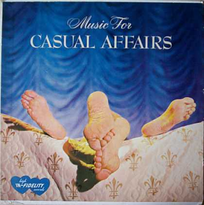 Weirdest Album Covers - Music For Casual Affairs