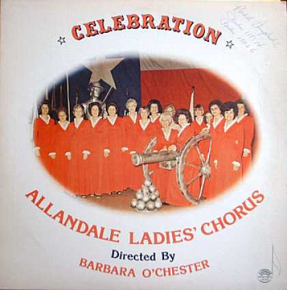 Weirdest Album Covers - Allandale Ladies' Chorus (Celebration)