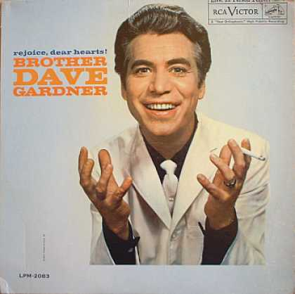Weirdest Album Covers - Gardner, Brother Dave (Rejoice, Dear Hearts!)
