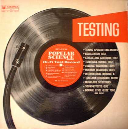 Weirdest Album Covers - Popular Science Testing Record