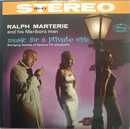 Weirdest Album Covers - Marterie, Ralph (Music For A Private Eye)
