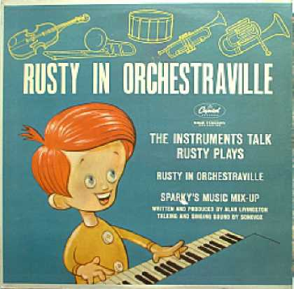 Weirdest Album Covers - Rusty In Orchestraville)