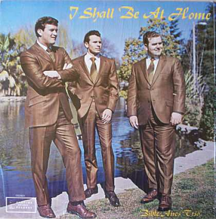 Weirdest Album Covers - Bible Aires Trio (I Shall Be At Home)