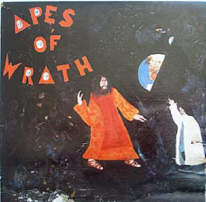 Weirdest Album Covers - Apes Of Wrath (self-titled)