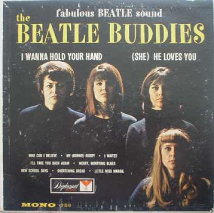 Weirdest Album Covers - Beatle Buddies (self-titled)