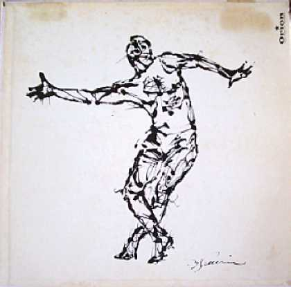 Weirdest Album Covers - Frigo, Johnny (Jazz Dance 107)