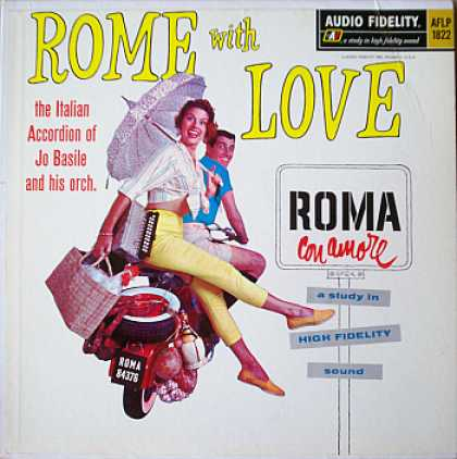 Weirdest Album Covers - Basile, Jo (Rome With Love)