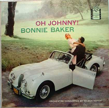 Weirdest Album Covers - Baker, Bonnie (Oh Johnny)