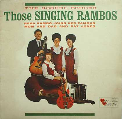 Weirdest Album Covers - Gospel Echoes (Those Singing Rambos)
