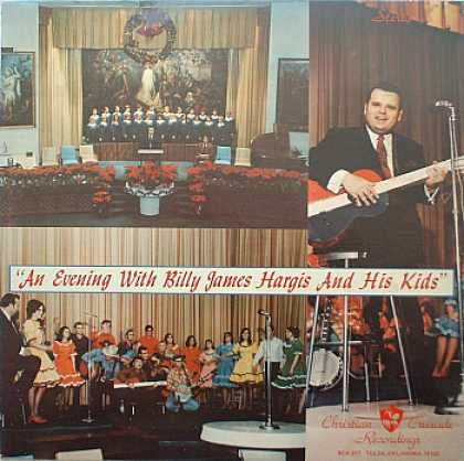 Weirdest Album Covers - Hargis, Billy James (An Eveneing With Billy James Hargis And His Kids)