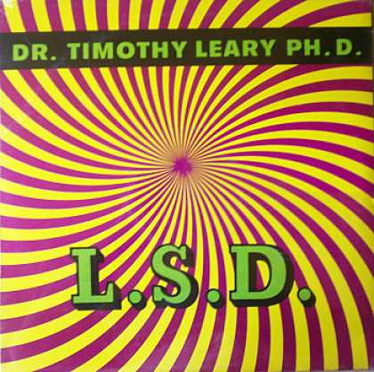 Weirdest Album Covers - Leary, Dr. Timothy (L.S.D)