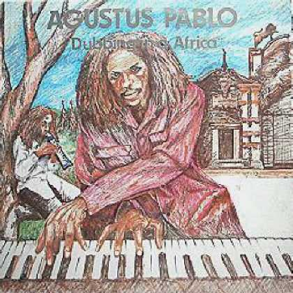 Weirdest Album Covers - Pablo, Augustus (Dubbing In A Africa)