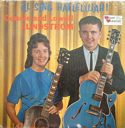 Weirdest Album Covers - Lundstrom, Connie & Lowell (All Sing Hallelujah!)
