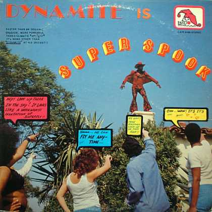 Weirdest Album Covers - Dynamite (Super Spook)