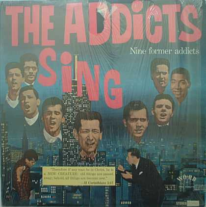 Weirdest Album Covers - Addicts (The Addicts Sing)