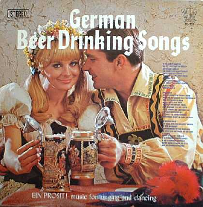 Weirdest Album Covers - German Beer Drinking Songs