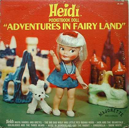 Weirdest Album Covers - Heidi (Adventures In Fairy Land)