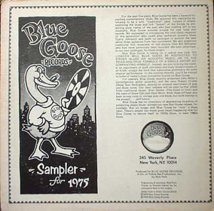 Weirdest Album Covers - Blue Goose Sampler For 1975