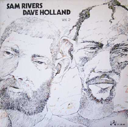 Weirdest Album Covers - Rivers, Sam & Dave Holland (self-titled, Vol 2)