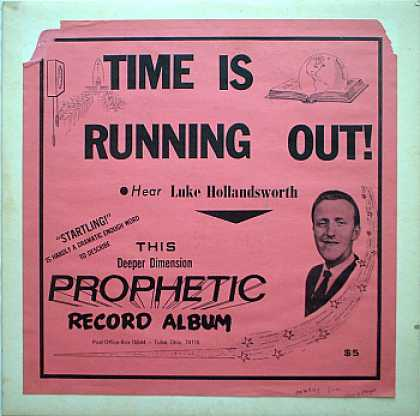 Weirdest Album Covers - Hollandsworth, Luke (Time Is Running Out!)