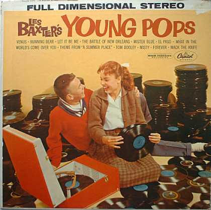 Weirdest Album Covers - Baxter, Les (Young Pops)