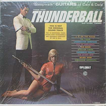 Weirdest Album Covers - Dan & Dale (Thunderball)