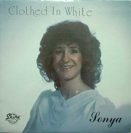 Weirdest Album Covers - Sonya (Clothed In White)