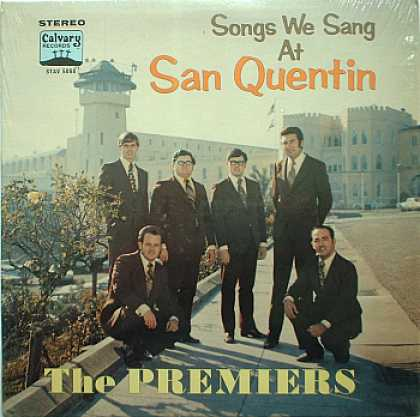 Weirdest Album Covers - Premiers, The (Songs We Sang At San Quentin)