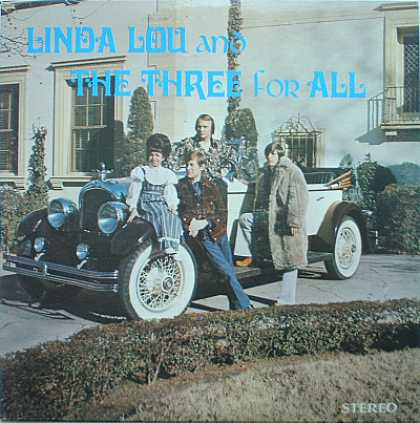 Weirdest Album Covers - Linda Lou & The Three For All (self-titled)