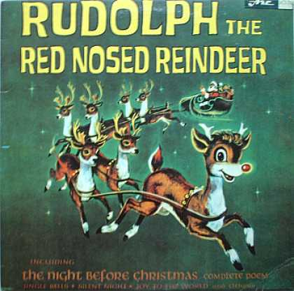 Weirdest Album Covers - Rudolph The Red Nosed Reindeer