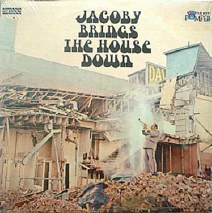"Weirdest Album Covers - Jacoby, Don ""Jake"" (Brings Down The House)"