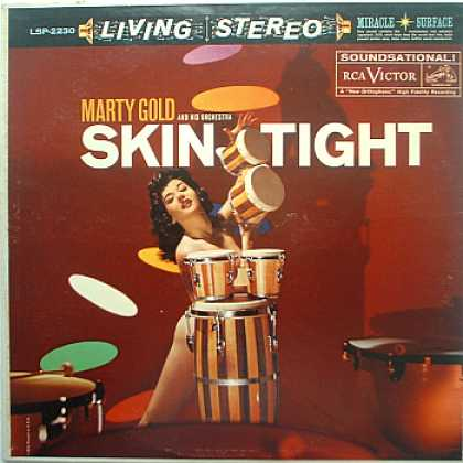 Weirdest Album Covers - Gold, Marty (Skin Tight)