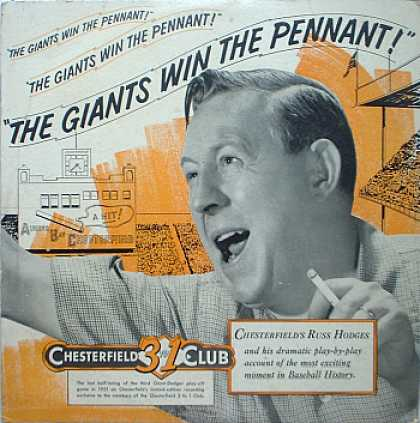 Weirdest Album Covers - Hodges, Russ (The Giants Win The Pennant)